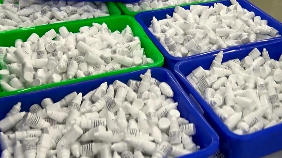 Company Caught Manufacturing Fake Rapid-Screening Reagents 已查獲8萬多快篩試劑 不法所得約2百萬