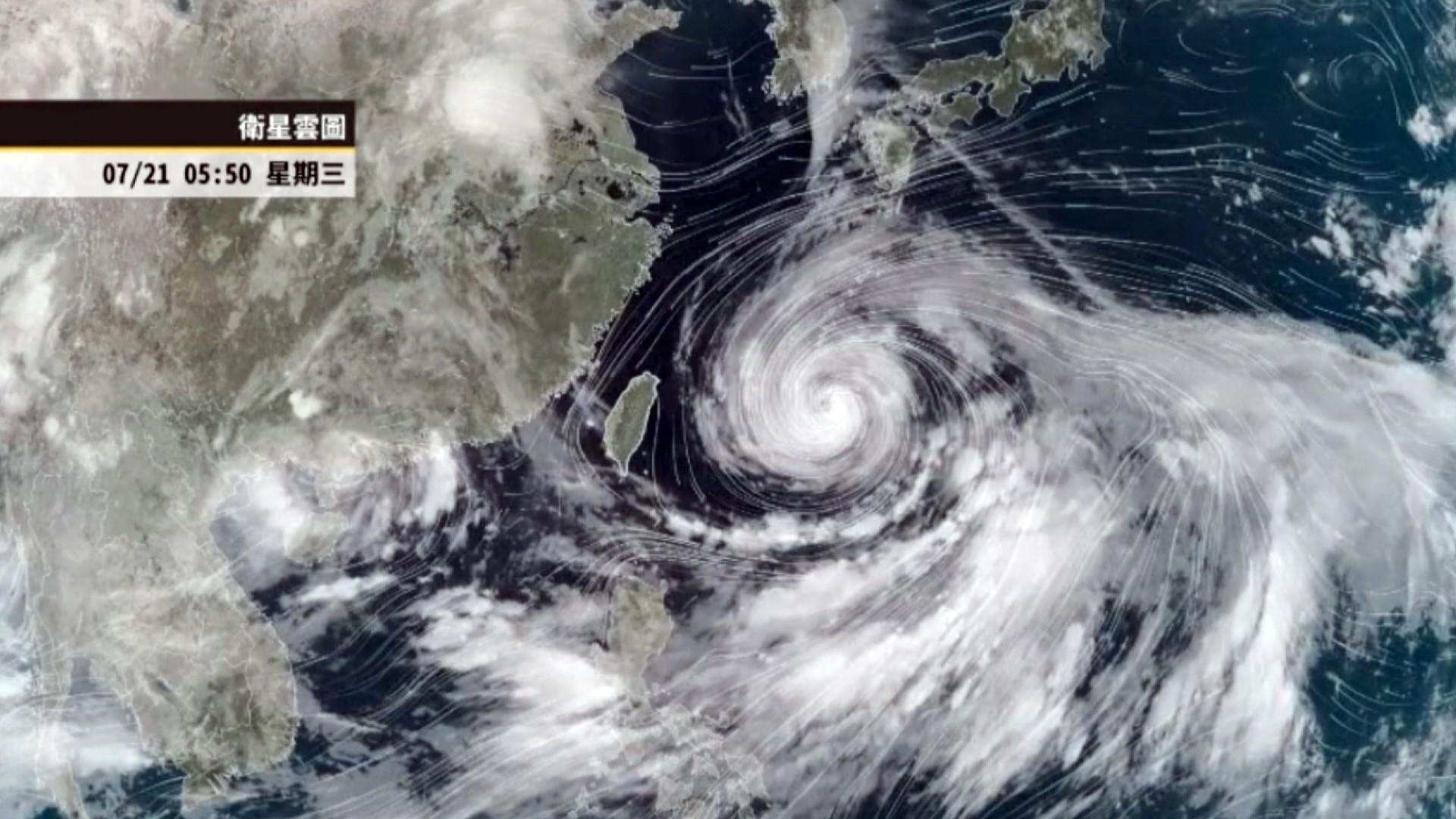 Sirkulasi luar taifun In-fa sebabkan gelombang panjang di Hualien